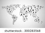 Global Network Mesh. Social...