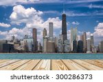 Chicago View From Michigan Lak...