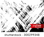 grunge texture   abstract... | Shutterstock .eps vector #300299348
