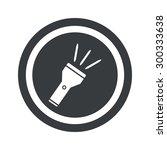 image of flashlight in circle ...