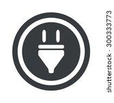 image of plug in circle  on...