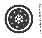 image of several snowflakes in... | Shutterstock . vector #300337529