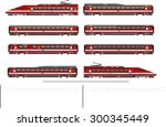 kit contains  1st and 2nd class ... | Shutterstock . vector #300345449