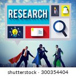 research information knowledge... | Shutterstock . vector #300354404