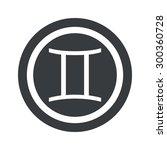 image of gemini zodiac symbol...
