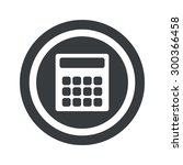 image of calculator in circle ...