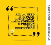 inspirational motivational... | Shutterstock .eps vector #300382553
