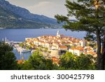 Panorama Of Korcula  Old...