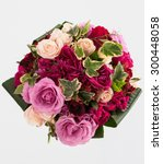 Flower Bouquet Isolated On...