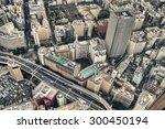 tokyo   aug 21  tokyo skyline... | Shutterstock . vector #300450194