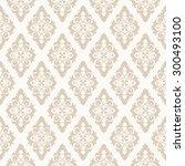 wallpaper in classic style.... | Shutterstock .eps vector #300493100