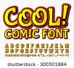 creative high detail yellow... | Shutterstock .eps vector #300501884