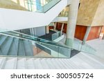 White Staircase. Abstract...
