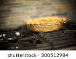 homemade pie | Shutterstock . vector #300512984