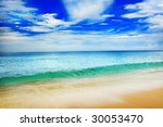 beach | Shutterstock . vector #30053470