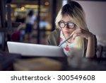 Woman Laptop Working Planning...