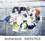 brainstorming planning... | Shutterstock . vector #300567410