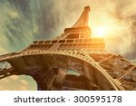 the eiffel tower is one of the... | Shutterstock . vector #300595178