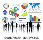 finance financial business...   Shutterstock . vector #300596156