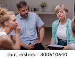 photo of female psychologist... | Shutterstock . vector #300610640
