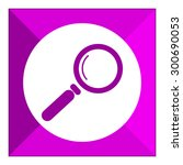 magnifying glass icon | Shutterstock .eps vector #300690053