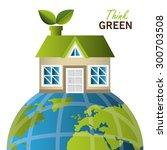 green energy design  vector...   Shutterstock .eps vector #300703508