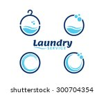 laundry and dry cleaning  icons