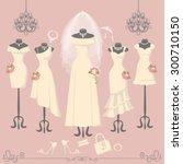 Wedding Dresses On Mannequin...