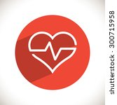 heartbeat  linear icon. one of...