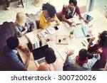 designer teamwork brainstorming ... | Shutterstock . vector #300720026