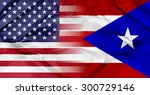 puerto rico and united states... | Shutterstock . vector #300729146