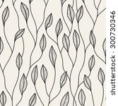 vector seamless pattern. floral ... | Shutterstock .eps vector #300730346