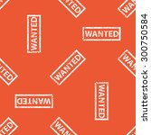 image of stamp with word wanted ... | Shutterstock . vector #300750584