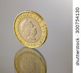 Two British Pounds Coin...