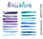 Watercolor Brush Strokes...