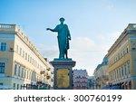 monument of duke de richelieu... | Shutterstock . vector #300760199