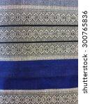thai silk fabric pattern... | Shutterstock . vector #300765836