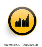 graph icon on yellow button...