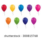 collection of colorful vector... | Shutterstock .eps vector #300815768