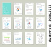 infographics  brochures and... | Shutterstock .eps vector #300819338