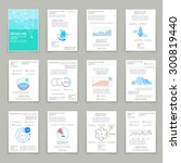 different infographic elements... | Shutterstock .eps vector #300819440