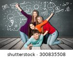student  university  college... | Shutterstock . vector #300835508