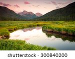 sunset reflection in the uinta... | Shutterstock . vector #300840200