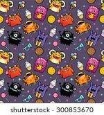 pattern monsters | Shutterstock . vector #300853670