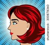 pop art design  vector... | Shutterstock .eps vector #300878360