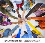 team corporate teamwork... | Shutterstock . vector #300899114