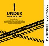 under construction background... | Shutterstock .eps vector #300903026