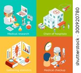 set of medical care concepts.... | Shutterstock . vector #300920780