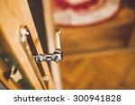 door opening | Shutterstock . vector #300941828