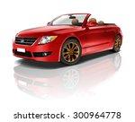 car vehicle transportation 3d... | Shutterstock . vector #300964778